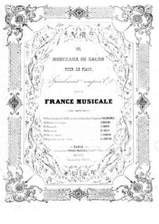 Six morceaux de salon: No.1 Marche Funebre by Адольф Адам