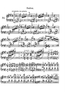 Лирические пьесы, Op.65: No.4 Салон by Эдвард Григ