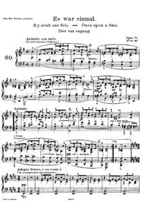 Лирические пьесы, Op.71: No.1 Однажды by Эдвард Григ