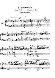 Лирические пьесы, Op.71: No.2 Летний вечер by Эдвард Григ