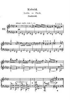 Лирические пьесы, Op.71: No.3 Кобольд by Эдвард Григ