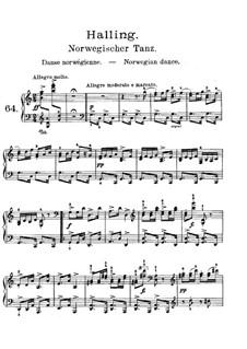 Лирические пьесы, Op.71: No.5 Норвежский танец by Эдвард Григ