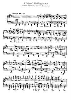 Слотты. Норвежские крестьянские танцы, Op.72: No.1-3 by Эдвард Григ