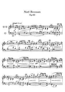 Livre de Noëls (Christmas Carols), Op.60: Book I. Noël Ecossais by Александр Гильман