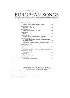L'heure exquise: Клавир с вокальной партией by Poldowski