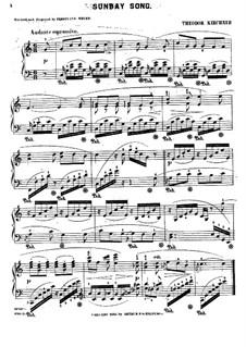 Sunday Song: Sunday Song by Теодор Кирхнер