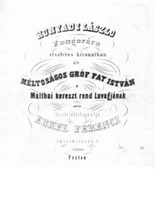 Ласло Хуньяди: Части III-IV, для фортепиано by Ференц Эркель