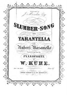 Slumber-Song and Tarantella: Для фортепиано by Даниэль Обер
