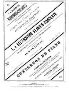 Концерт для фортепиано с оркестром No.2, Op.19: Версия для фортепиано и струнного квинтета – партии струнных by Людвиг ван Бетховен