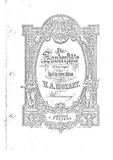 Фрагменты: Акт I, для фортепиано by Вольфганг Амадей Моцарт