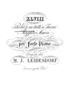 Прелюдии для фортепиано: Книга II by Максимилиан Йозеф Лайсдорф