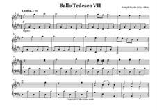 Ballo Tedesco: No.7 by Йозеф Гайдн