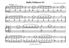 Ballo Tedesco: No.6 by Йозеф Гайдн