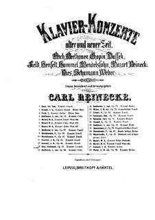 Концерт No.3 до-диез минор для фортепиано с оркестром, Op.55: Концерт No.3 до-диез минор для фортепиано с оркестром by Фердинанд Рис