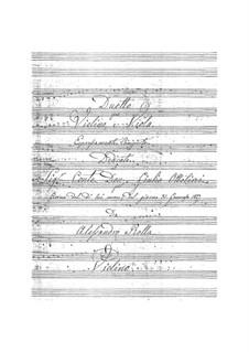 Дуэт для скрипки и альта, BI 104: Дуэт для скрипки и альта by Алессандро Ролла