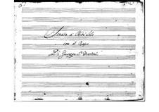 Сонаты для различных дуэтов (скрипка, гобой и флейта с бассо континуо): Сонаты для различных дуэтов (скрипка, гобой и флейта с бассо континуо) by Джузеппе Саммартини