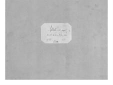 Септет для духовых и струнных No.1 до минор, Op.25: Партитура by Теодор Бернхард Сик