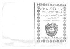 Мадригалы для голосов и бассо континуо: Мадригалы для голосов и бассо континуо by Филиппо Витали