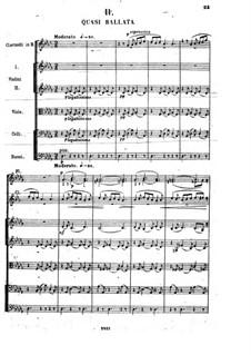 Сюита No.2, Op.38: Часть II by Цезарь Кюи