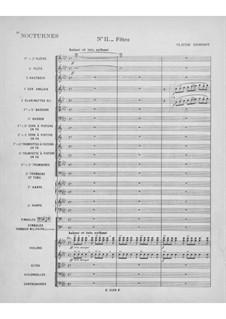 Три ноктюрна, L.91: No.2 Празднества by Клод Дебюсси