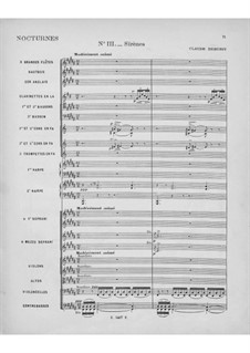 Три ноктюрна, L.91: No.3 Сирены by Клод Дебюсси