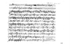 Соната для мандолины и бассо континуо соль мажор: Партитура by Джованни Баттиста Гервазио