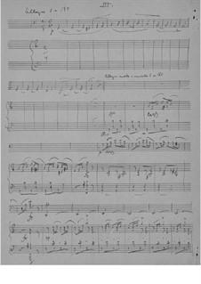 Соната для виолончели и фортепиано ля минор, Op.36: Часть III by Эдвард Григ
