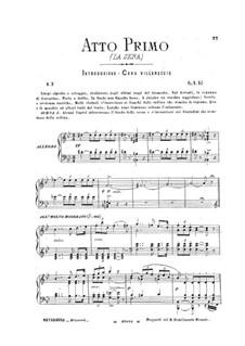 Динора, или паломничество в Плоэрмель: Акт I by Джакомо Мейербер