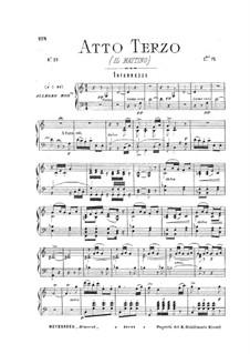 Динора, или паломничество в Плоэрмель: Акт III by Джакомо Мейербер