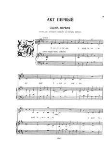 Коронация Поппеи, SV 308: Акт I, для голосов и фортепиано by Клаудио Монтеверди