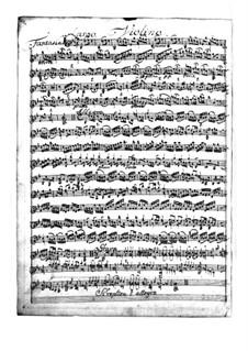 Фантазия для скрипки No.1 си-бемоль мажор, TWV 40:14: Для одного исполнителя by Георг Филипп Телеманн