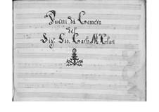 Пять дуэтов для двух голосов и бассо континуо: Пять дуэтов для двух голосов и бассо континуо by Джованни Карло Мариа Клари