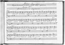 Арминио: Акт II by Иоганн Адольф Гассе