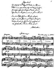 Четыре интермеццо, Op.19: No.2 Грациозо by Эдуард Кройцхаге