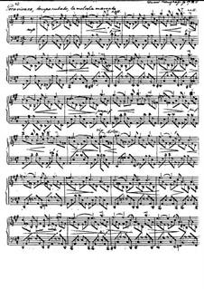 Четыре интермеццо, Op.19: No.4 Poco vivace by Эдуард Кройцхаге
