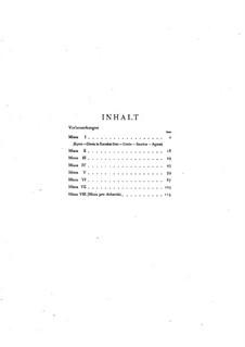 Мессы: Сборник by Антонио Лотти