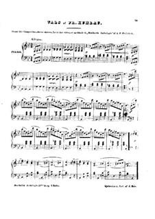 Вальс си-бемоль мажор: Вальс си-бемоль мажор by Фридрих Кулау