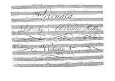 Серенада для струнного квинтета, BI 428: Серенада для струнного квинтета by Алессандро Ролла