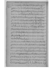 Symphonies pour un reposoir, H.515: Symphonies pour un reposoir by Марк-Антуан Шарпантье