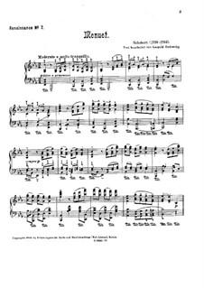 Менуэт ми-бемоль мажор: Менуэт ми-бемоль мажор by Иоганн Шоберт