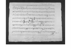 Концерт для альта с оркестром: Партии валторн by Гаэтано Доницетти