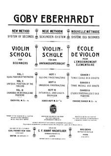 Школа игры на скрипке для начинающих: Книга I by Goby Eberhardt