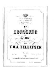 Концерт для фортепиано No.2, Op.15: Часть I – сольная партия by Томас Теллефсен