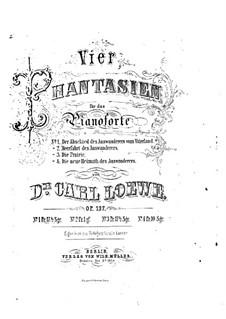 Четыре фантазии , Op.137: Четыре фантазии  by Карл Лёве