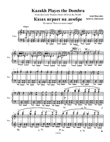 Казах играет на домбре. Из фортепианного цикла 'Фото со всего света': Казах играет на домбре. Из фортепианного цикла 'Фото со всего света' by Ариэль Давыдов