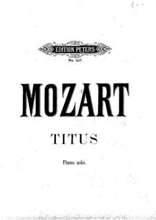 Вся опера: Для фортепиано by Вольфганг Амадей Моцарт