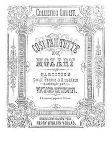 Вся опера: Аранжировка для фортепиано by Вольфганг Амадей Моцарт