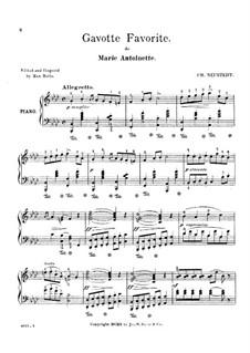 Gavotte Favorite: Gavotte Favorite by Шарль Нойштедт