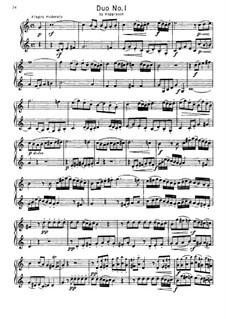 Дуэт No.1 для двух валторн: Дуэт No.1 для двух валторн by Wilhelm Kopprasch