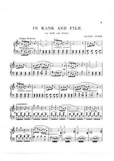 In Rieh' und Glied (In Rank and File): In Rieh' und Glied (In Rank and File) by Густав Ланге